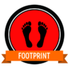 "Badge icon ""Feet (1890)"" provided by The Noun Project under Creative Commons CC0 - No Rights Reserved"